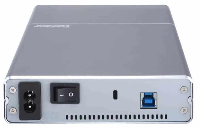 Boitier externe pour disques dur 3,5 pouces avec alimentation IPS